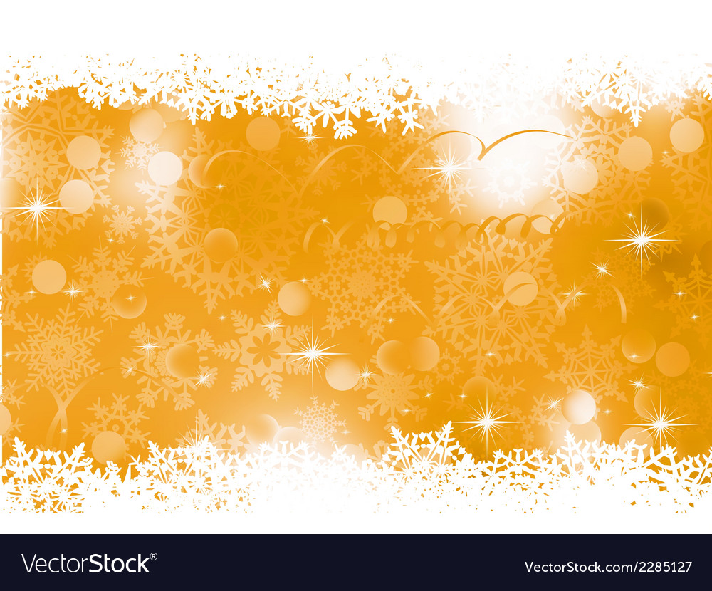 Orange christmas background eps 8 vector | Price: 1 Credit (USD $1)