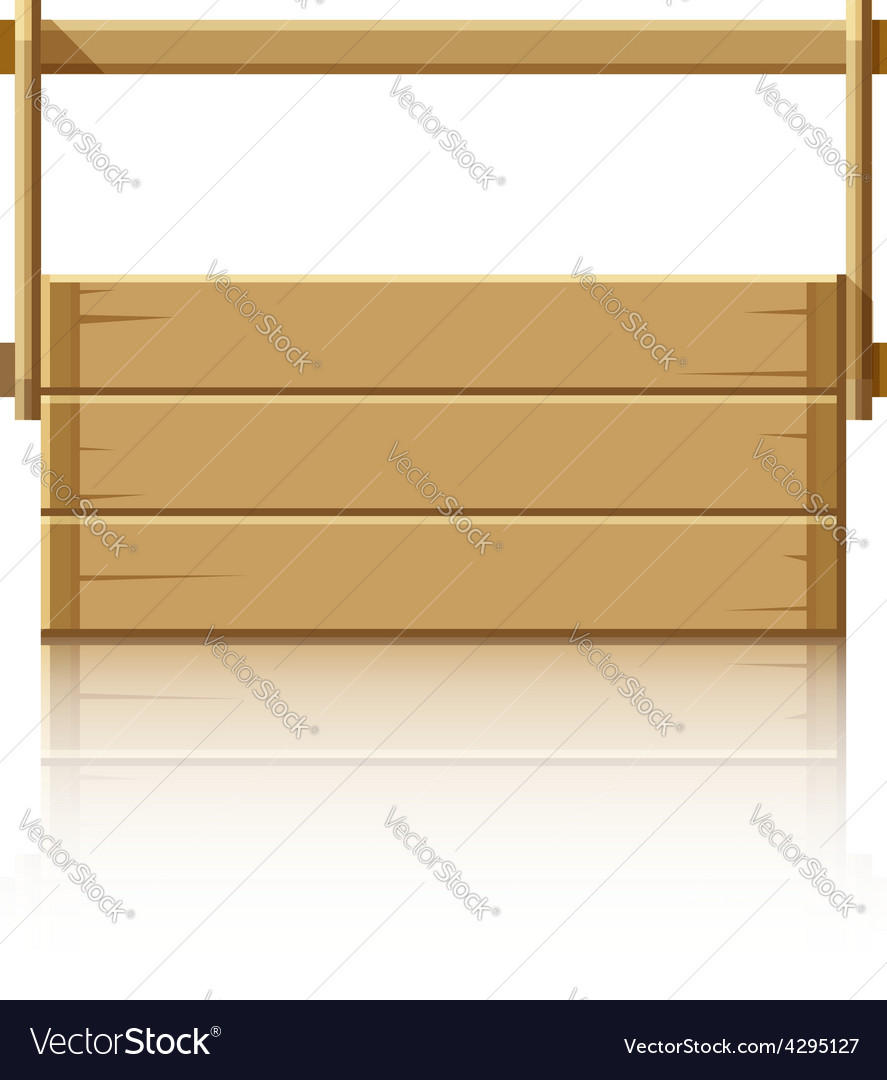 Wooden box for tools vector | Price: 1 Credit (USD $1)