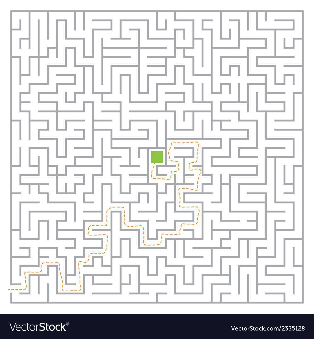 Big maze vector | Price: 1 Credit (USD $1)