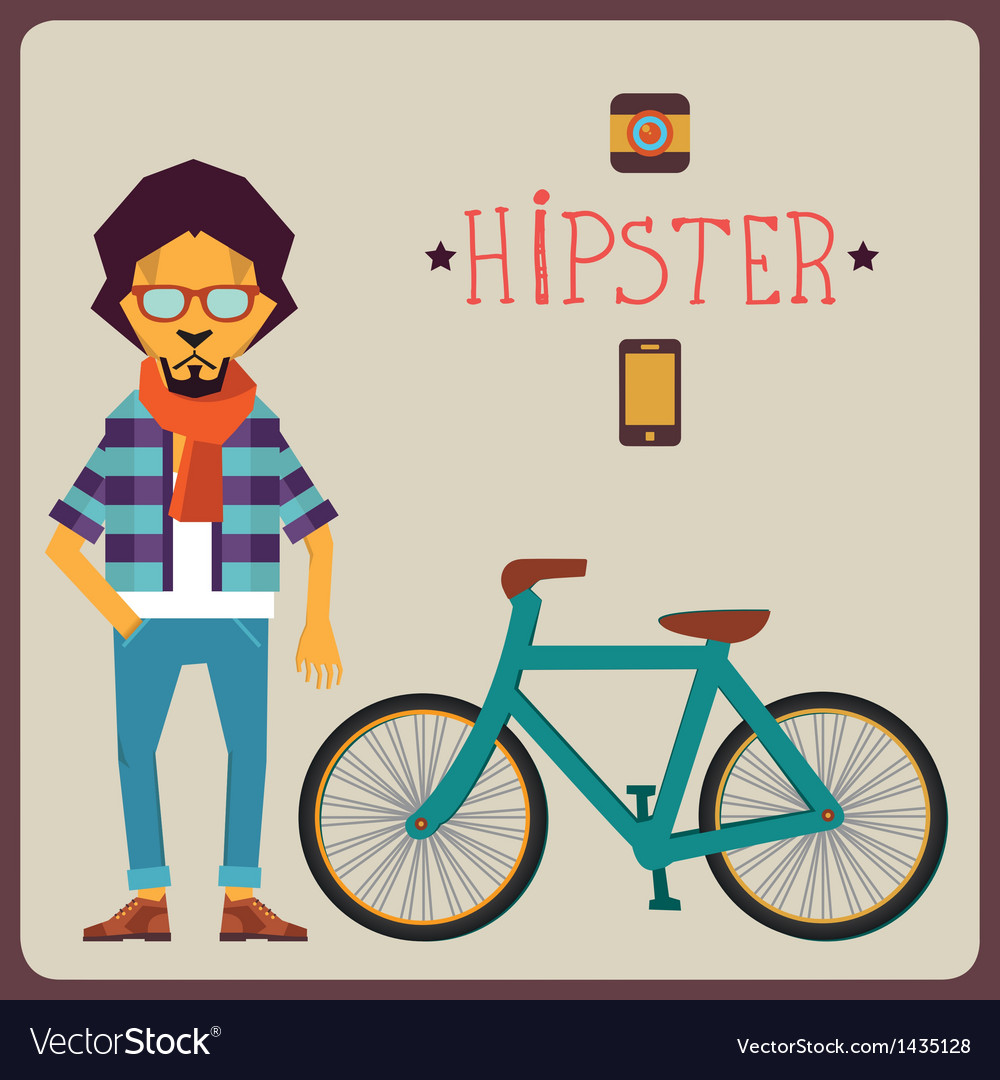 Concept of hipster vector | Price: 3 Credit (USD $3)