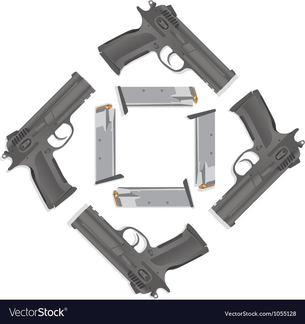 Handgun collection vector   Price: 1 Credit (USD $1)