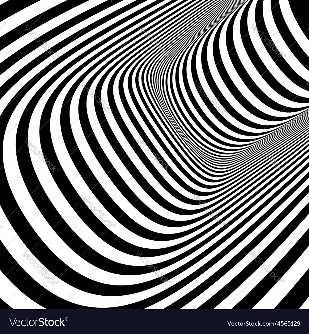 Black and white abstract striped background vector | Price: 1 Credit (USD $1)