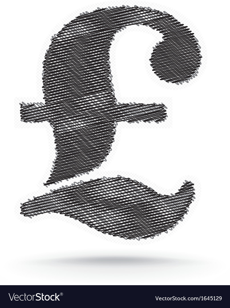 Pound sign vector | Price: 1 Credit (USD $1)