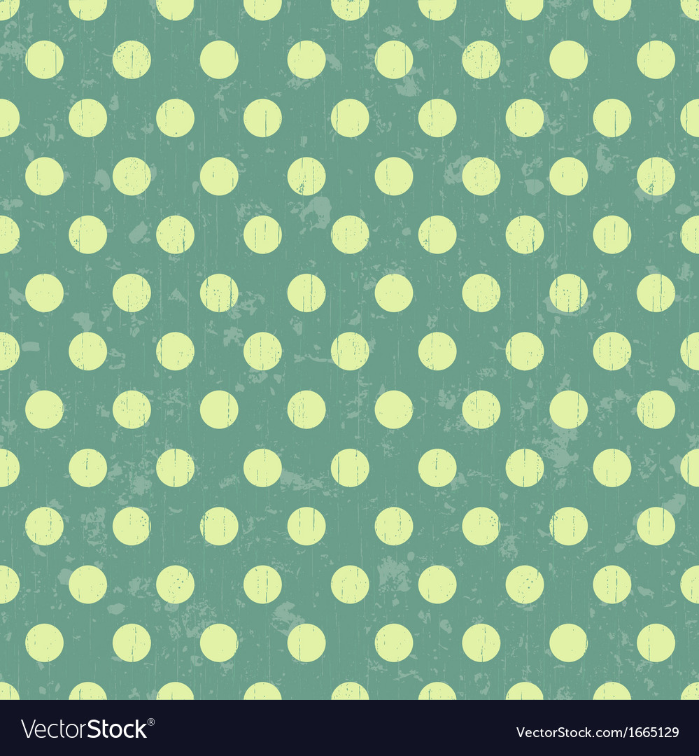 Seamless retro dot pattern background vector | Price: 1 Credit (USD $1)