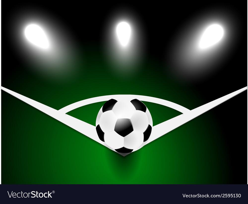 Soccer ball vector   Price: 1 Credit (USD $1)