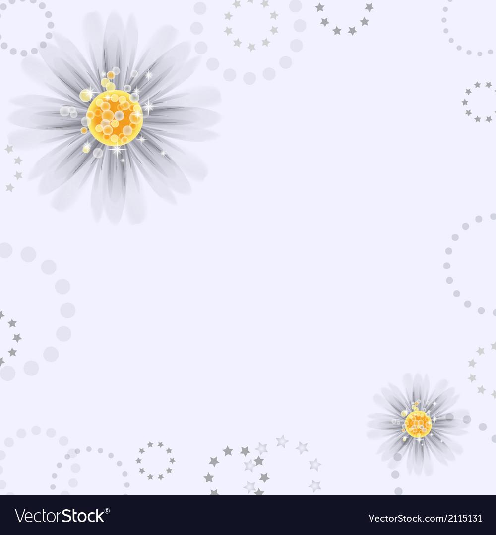 Daisy flowers vector | Price: 1 Credit (USD $1)