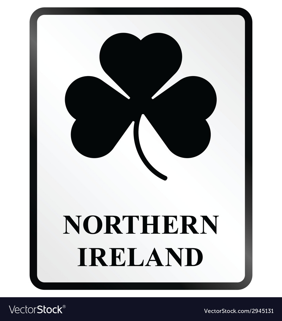 Northern ireland sign vector | Price: 1 Credit (USD $1)