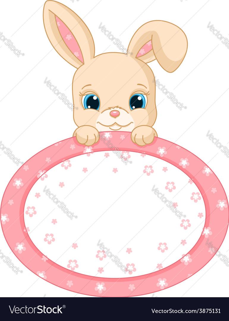 Rabbit frame vector   Price: 3 Credit (USD $3)