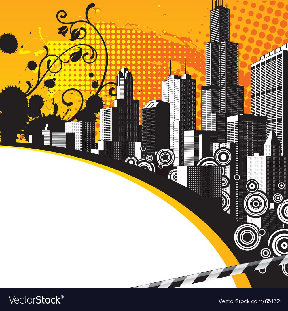 City background vector | Price: 1 Credit (USD $1)