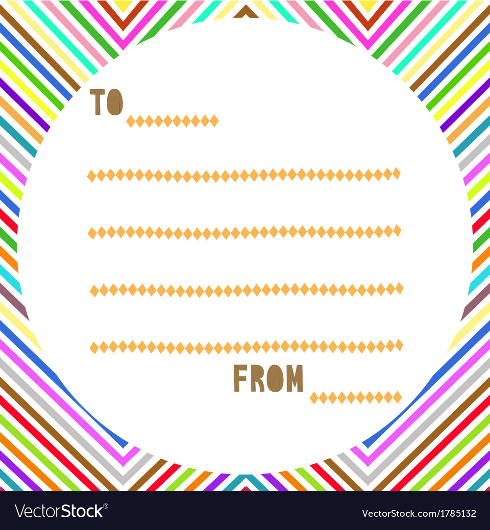 Multicolor card2 vector | Price: 1 Credit (USD $1)