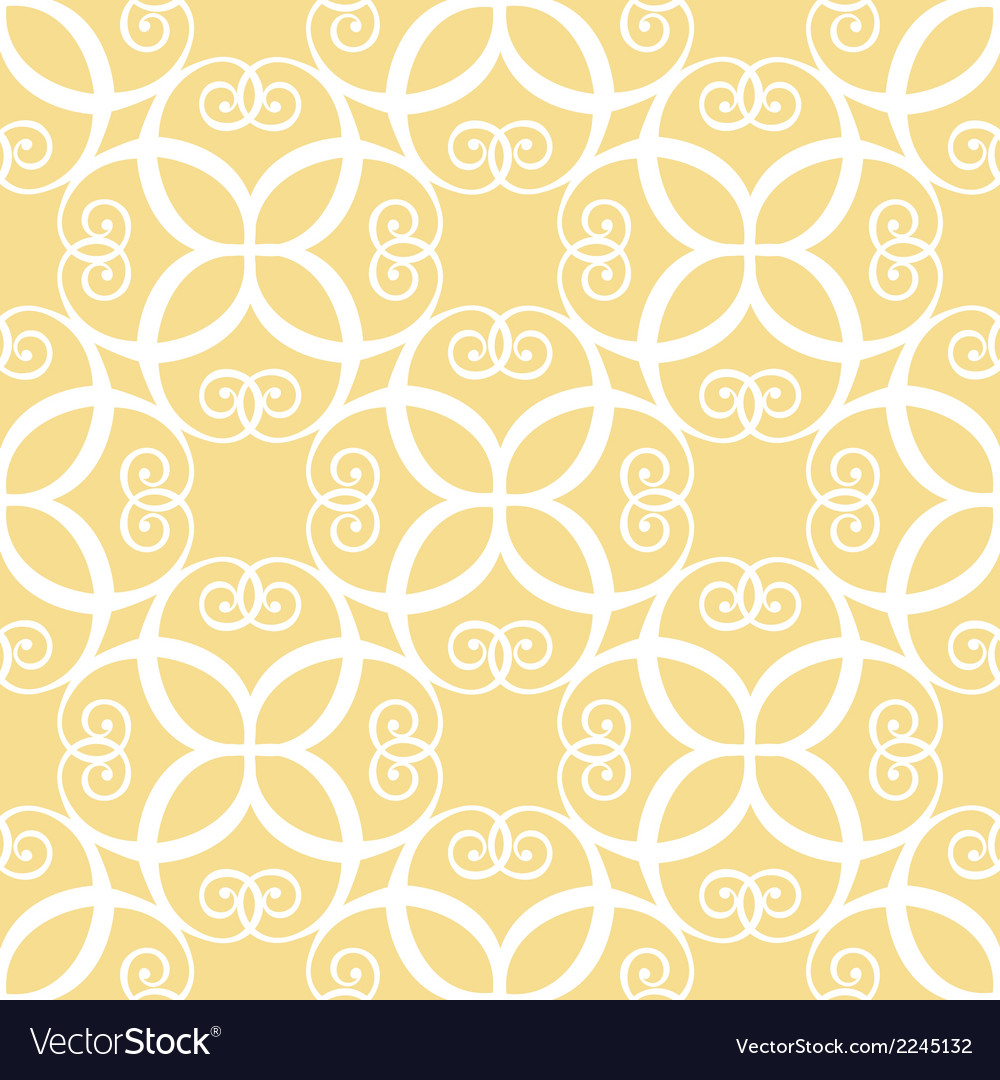 Seamless yellow pattern vector   Price: 1 Credit (USD $1)