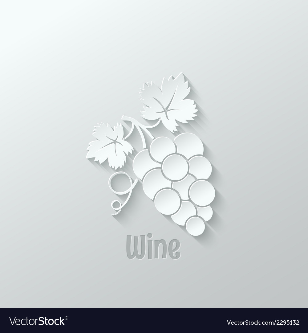 Wine grapes background vector | Price: 1 Credit (USD $1)