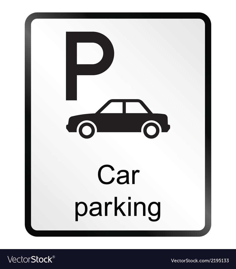 Car parking information sign vector | Price: 1 Credit (USD $1)