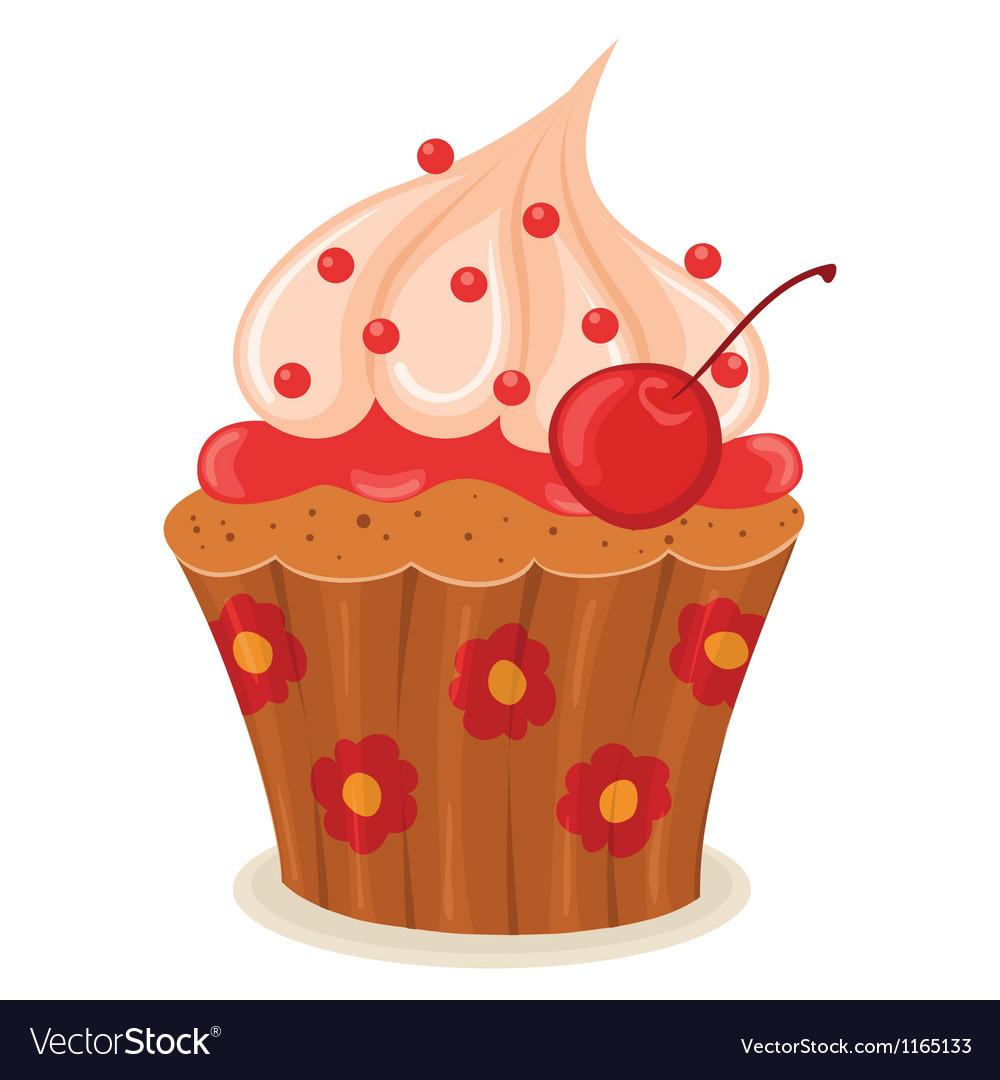 Cupcake02 vector | Price: 1 Credit (USD $1)