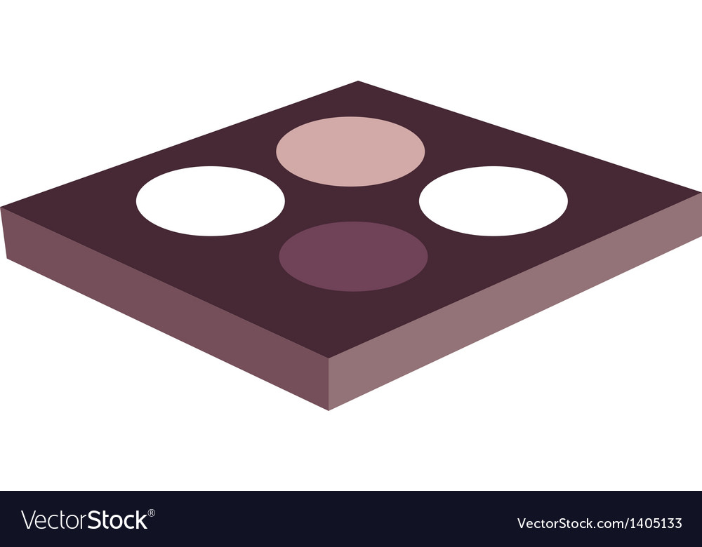 Eye shadow vector | Price: 1 Credit (USD $1)