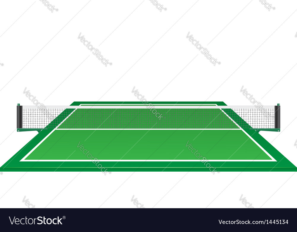 Net and table for tennis ping pong vector | Price: 1 Credit (USD $1)