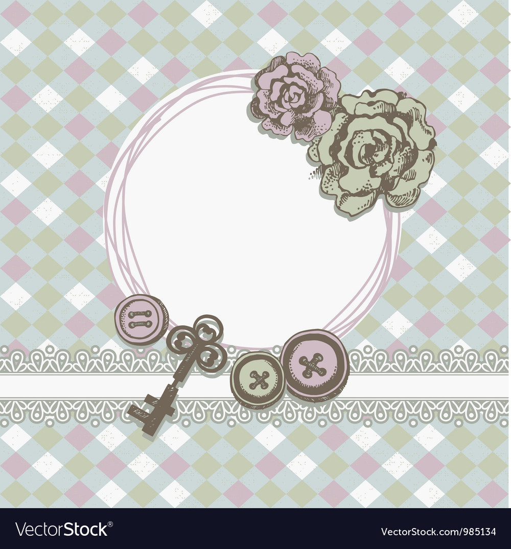 Scrapbook background vector | Price: 1 Credit (USD $1)