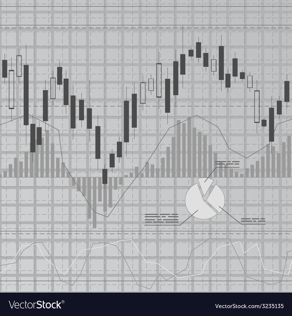 Gray finance background vector | Price: 1 Credit (USD $1)
