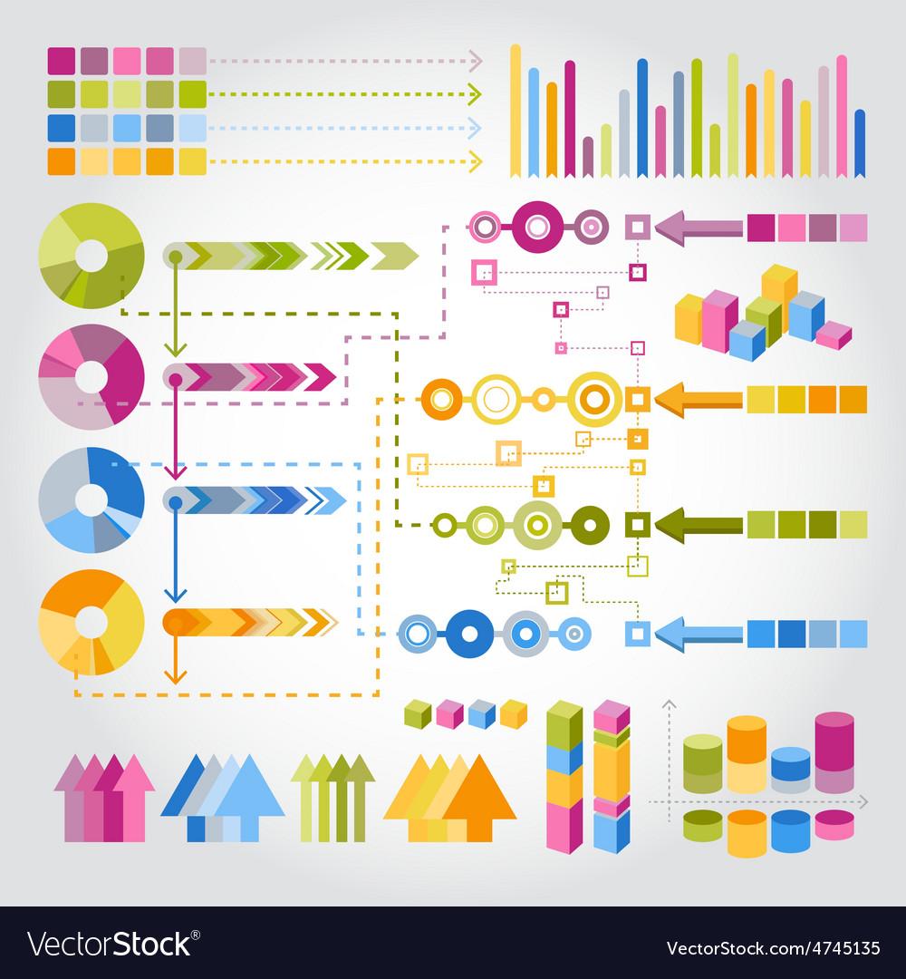 Infographics set vector | Price: 1 Credit (USD $1)