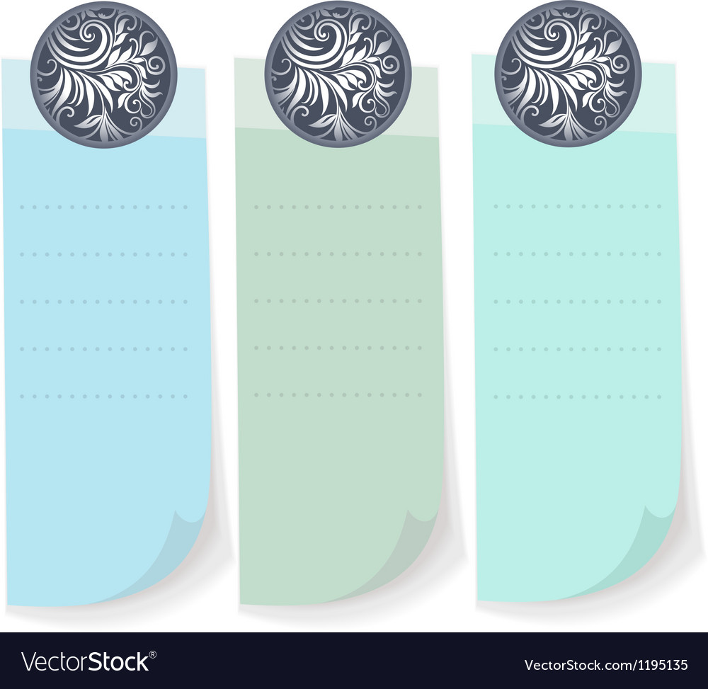 Sheet from a notebook vector | Price: 1 Credit (USD $1)