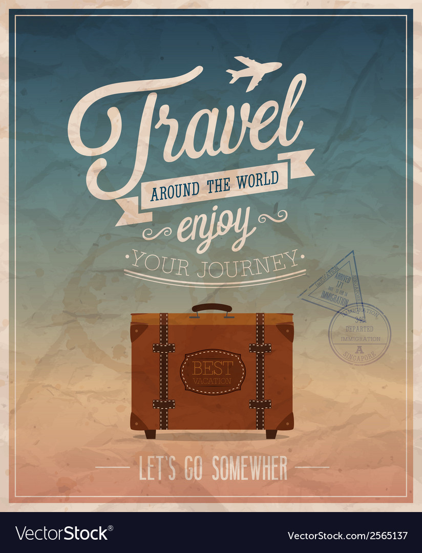 Best travel vector | Price: 1 Credit (USD $1)