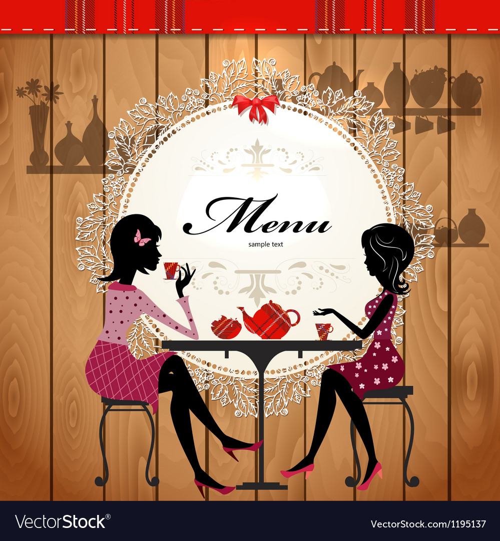 Retro cafe menu vector | Price: 1 Credit (USD $1)