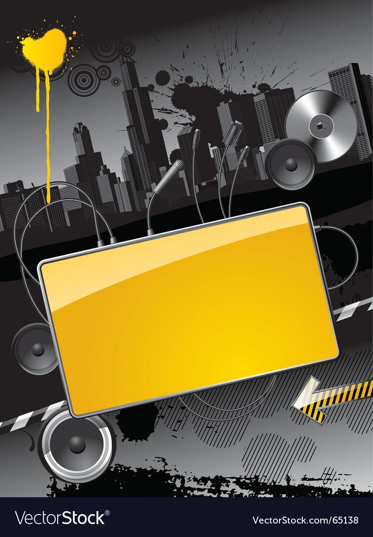 Modern banner vector | Price: 3 Credit (USD $3)