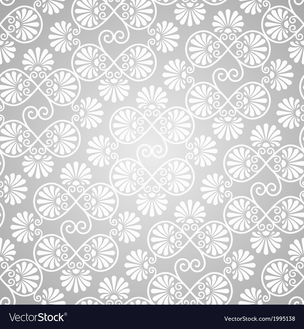 Seamless pattern on gradient background vector | Price: 1 Credit (USD $1)