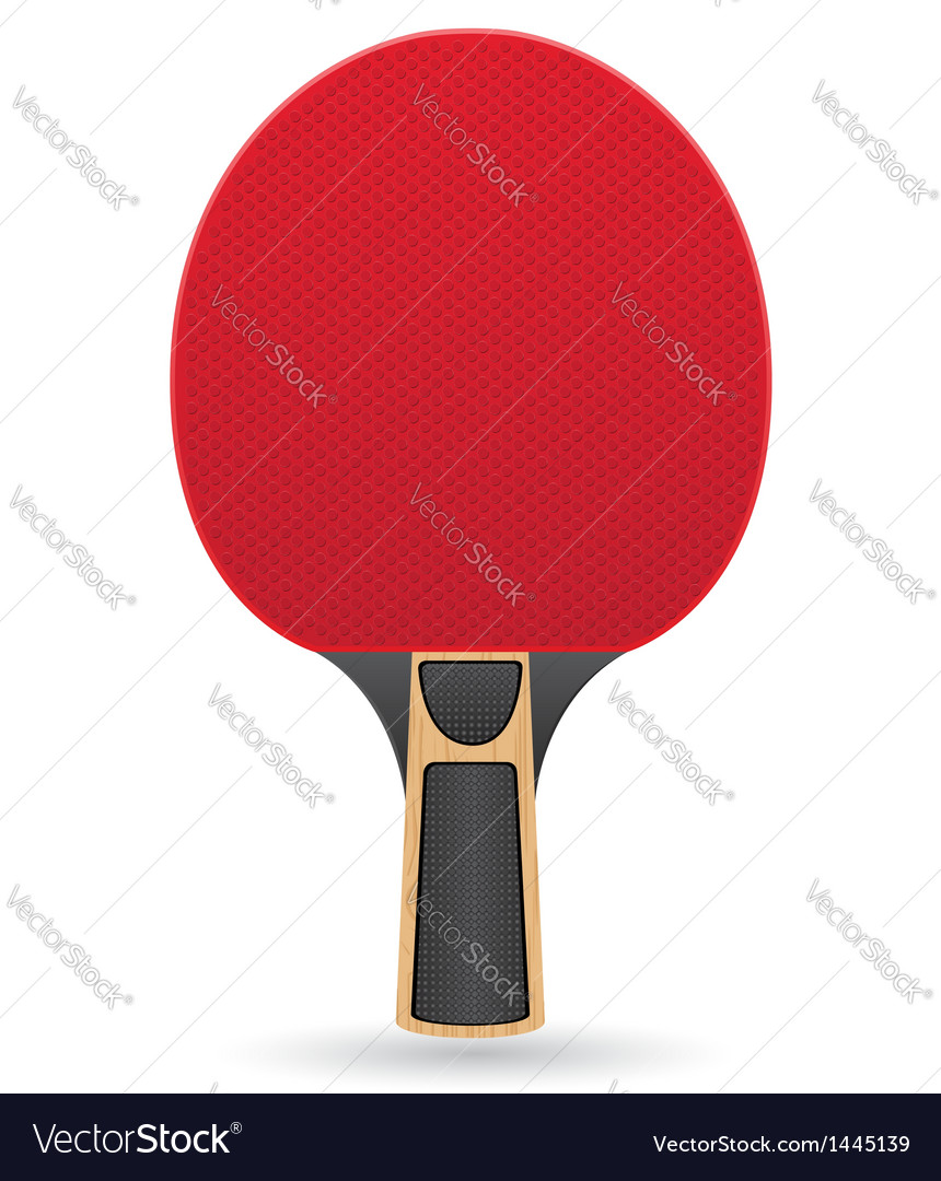 Racket for table tennis ping pong vector | Price: 1 Credit (USD $1)
