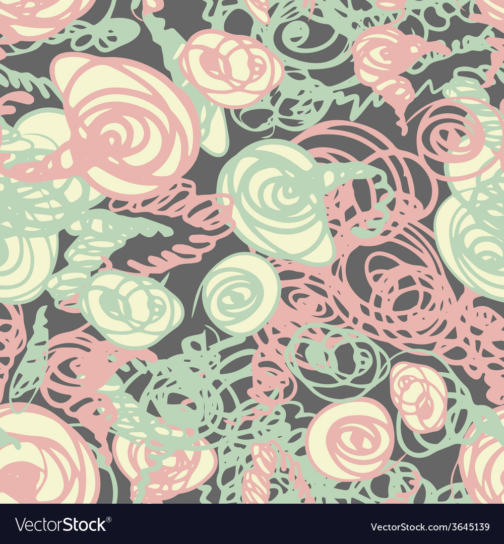 Seamless doodle pattern vector | Price: 1 Credit (USD $1)