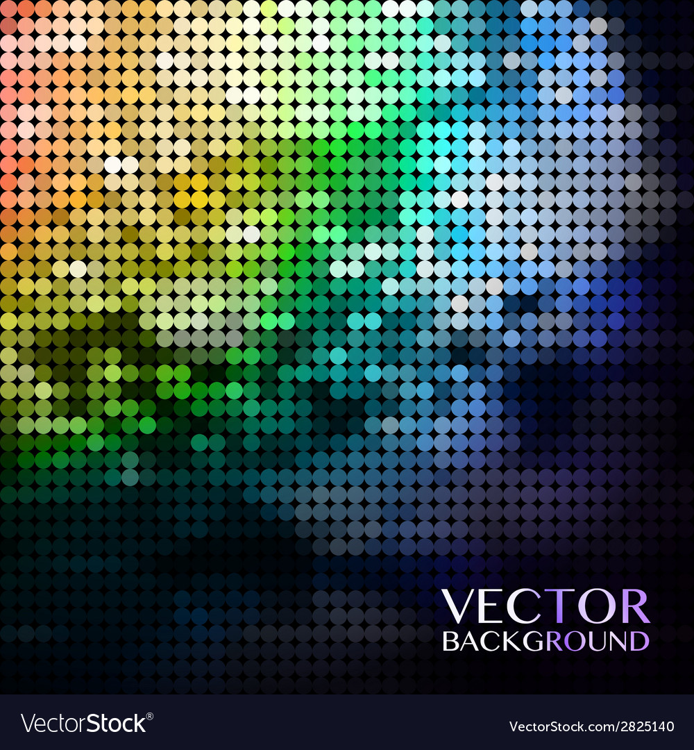 Blue abstract sparkling disco background with vector | Price: 1 Credit (USD $1)