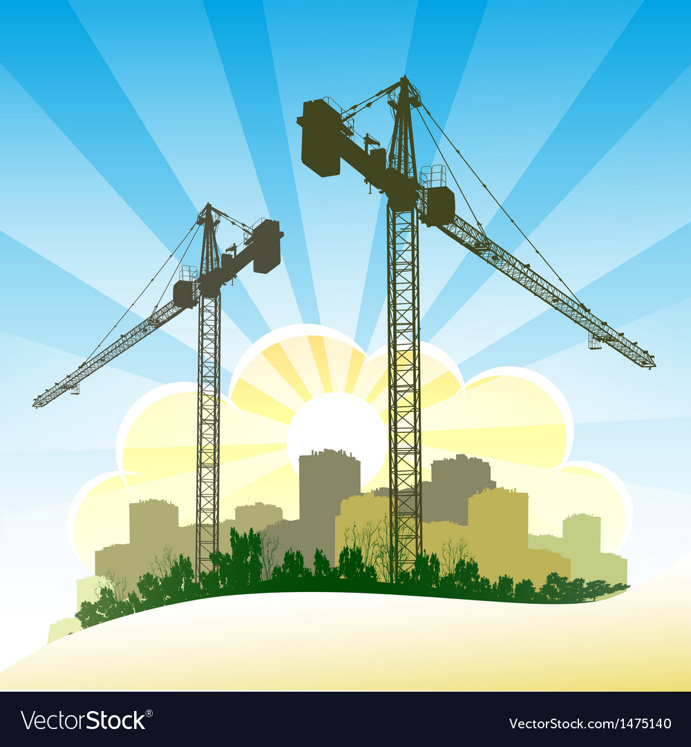 Construction banner vector | Price: 1 Credit (USD $1)