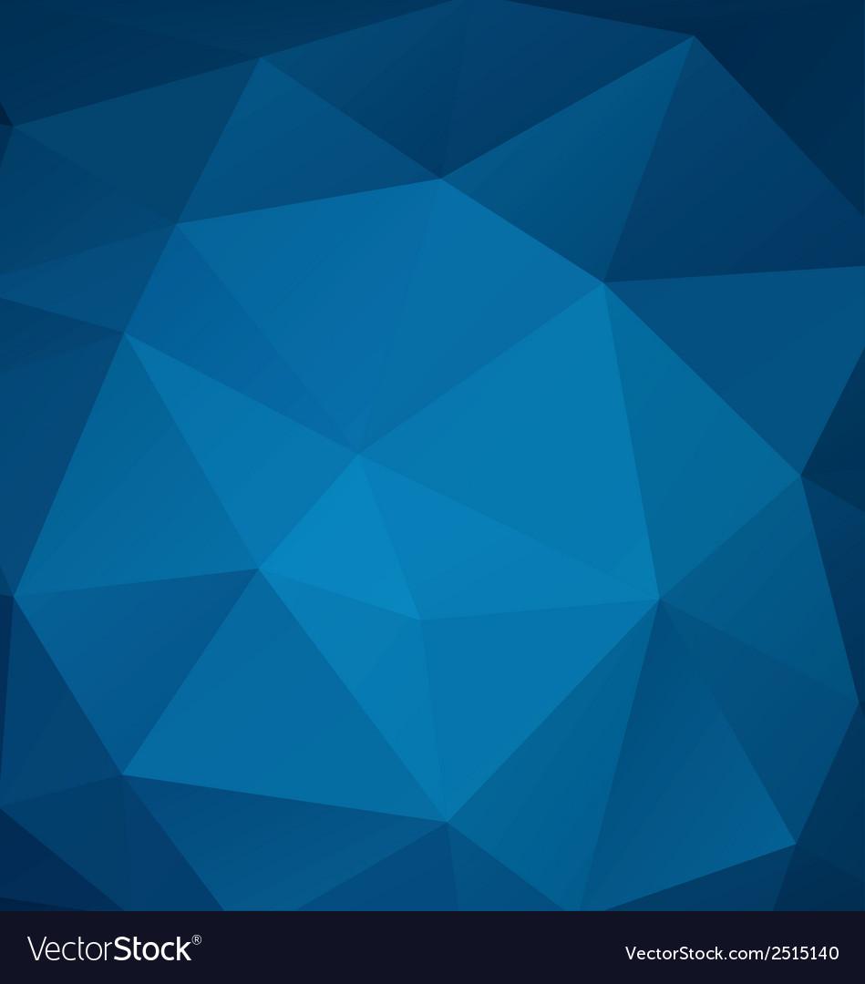 Poligonal blue background vector | Price: 1 Credit (USD $1)