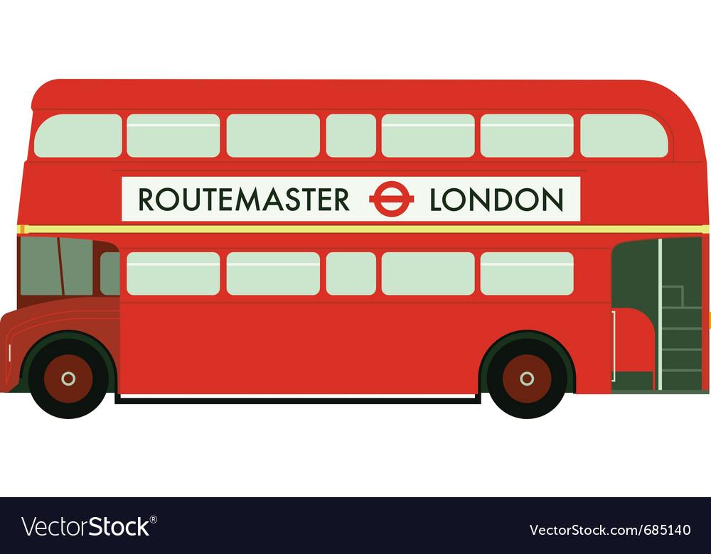 Routemaster vector