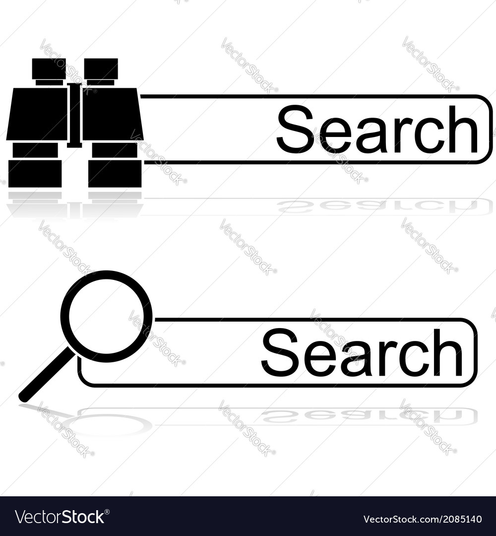 Search options vector | Price: 1 Credit (USD $1)