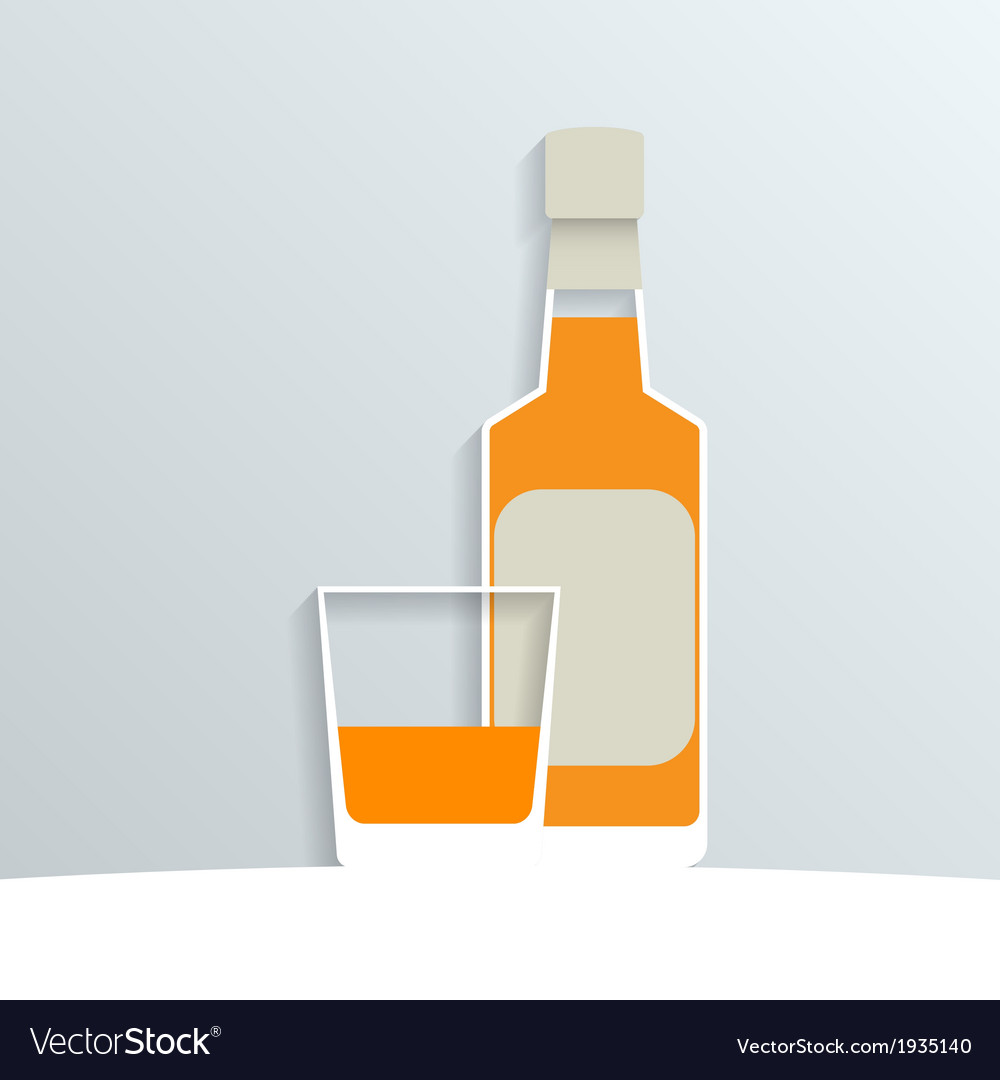 Whiskey vector | Price: 1 Credit (USD $1)