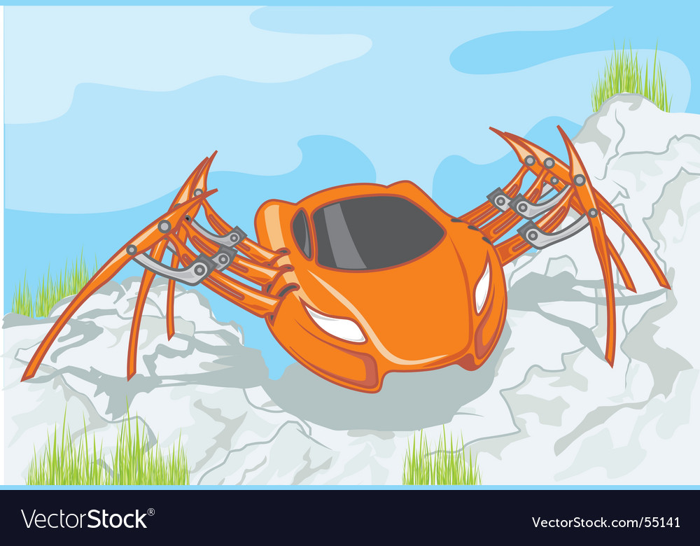 Auto spider vector | Price: 3 Credit (USD $3)