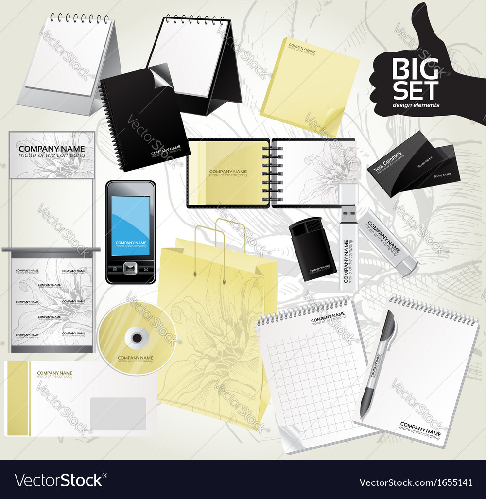 Big set design elements for your advertising 3 vector | Price: 1 Credit (USD $1)