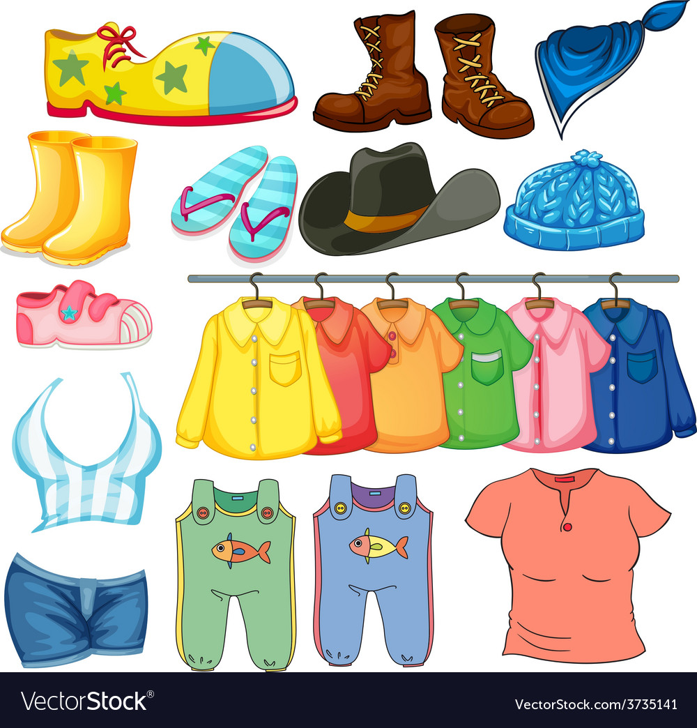 Clothes vector | Price: 3 Credit (USD $3)