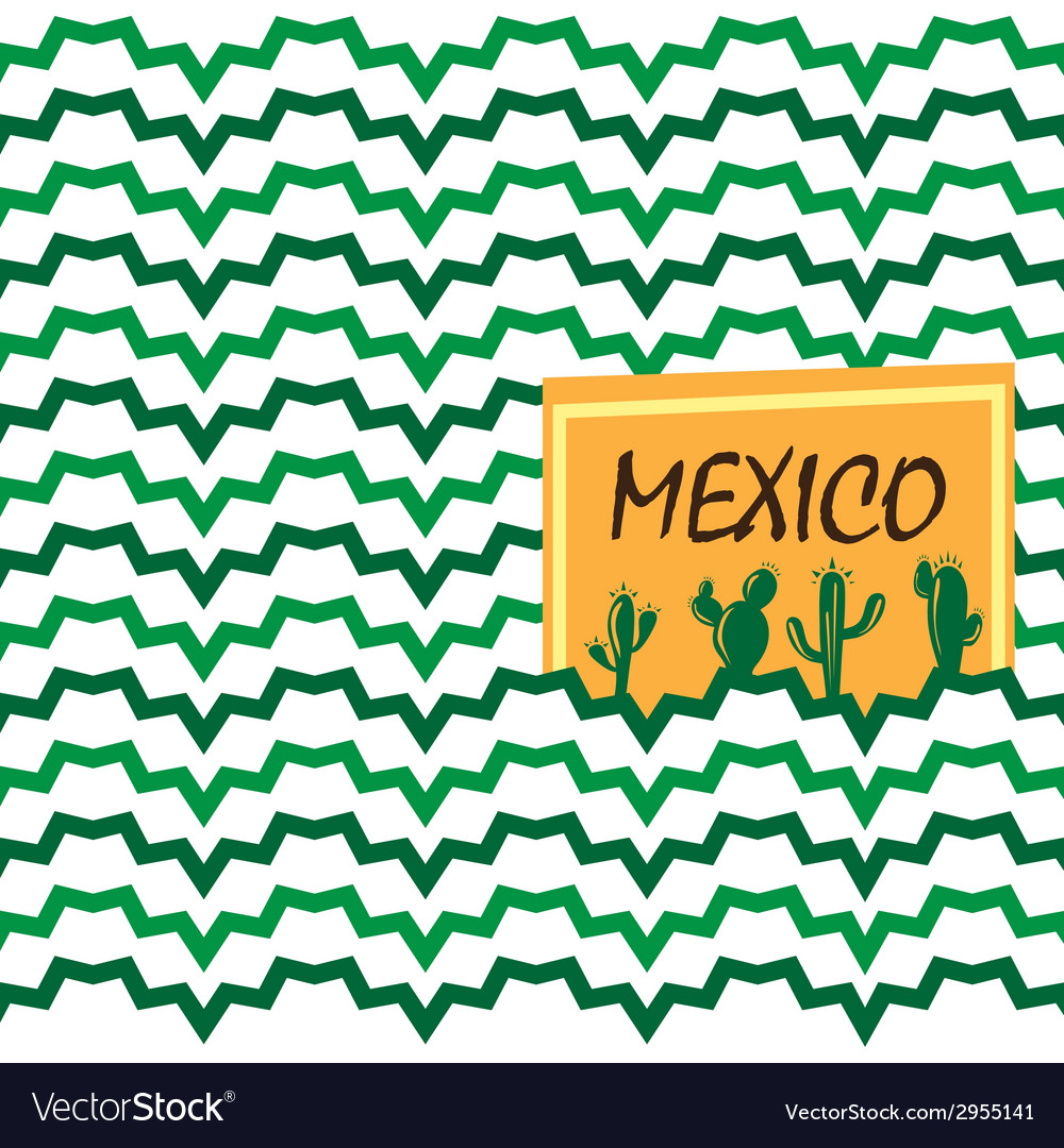Ethnic mexican background vector | Price: 1 Credit (USD $1)