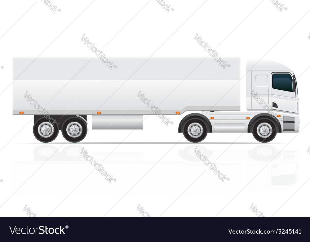 Truck 04 vector | Price: 3 Credit (USD $3)