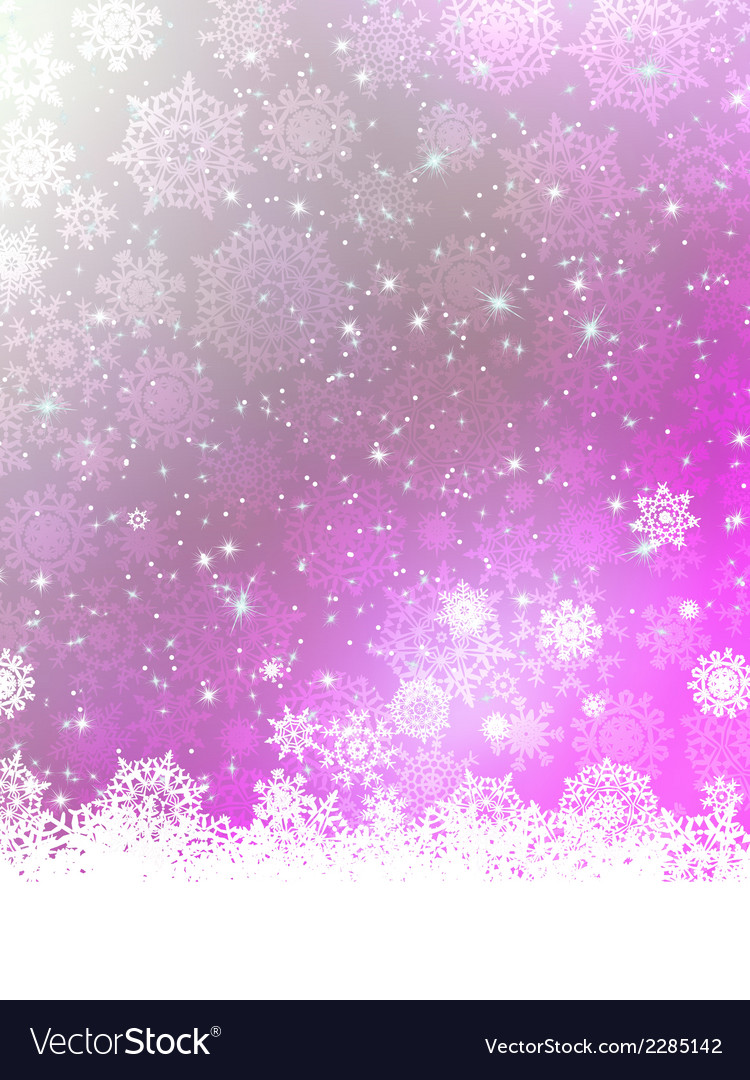 Purple christmas background eps 8 vector | Price: 1 Credit (USD $1)