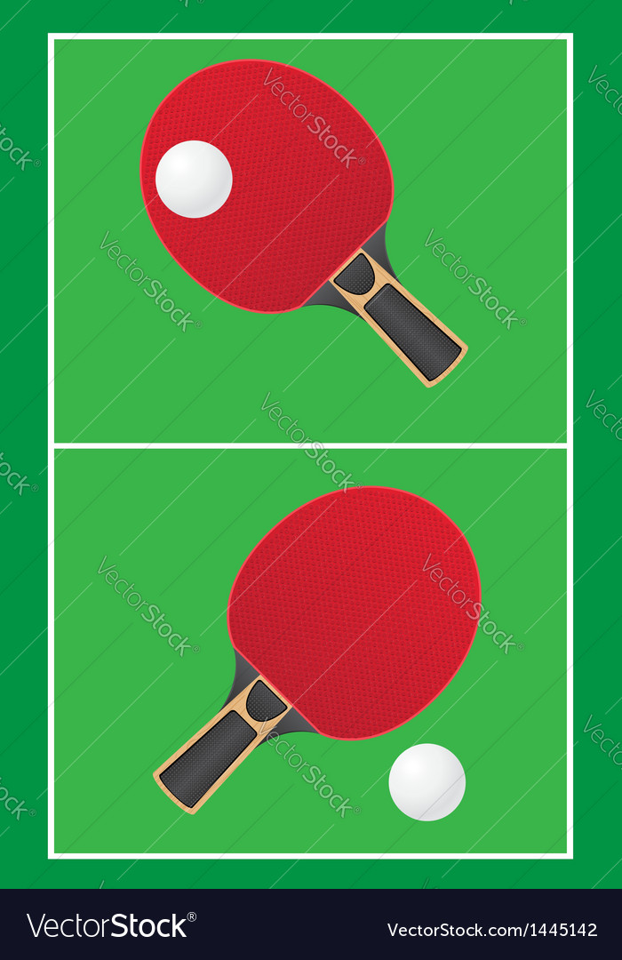 Sport game table tennis ping pong vector | Price: 1 Credit (USD $1)