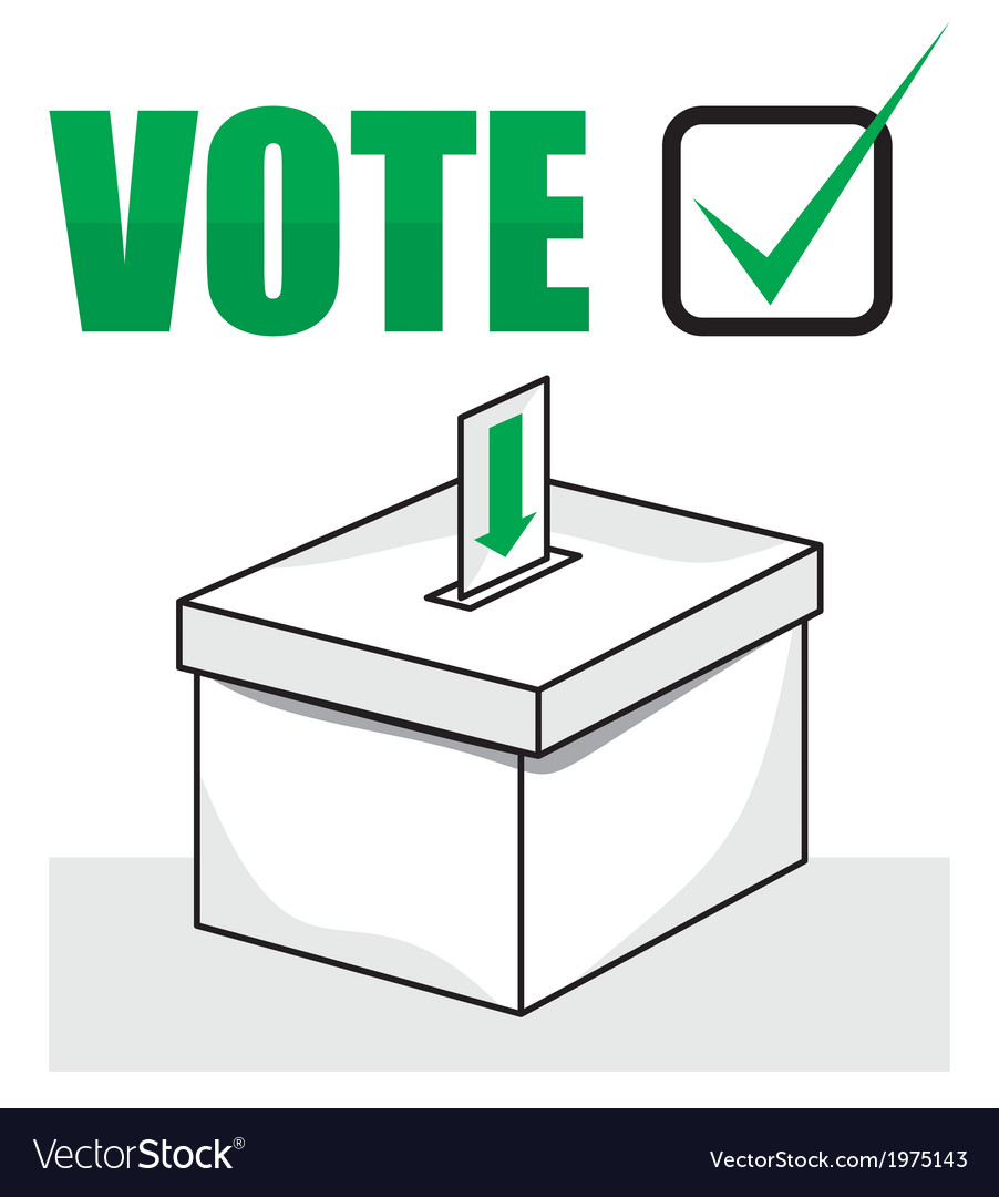Ballot box vector | Price: 1 Credit (USD $1)