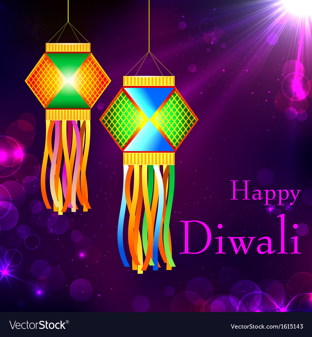 Diwali kandil vector | Price: 1 Credit (USD $1)