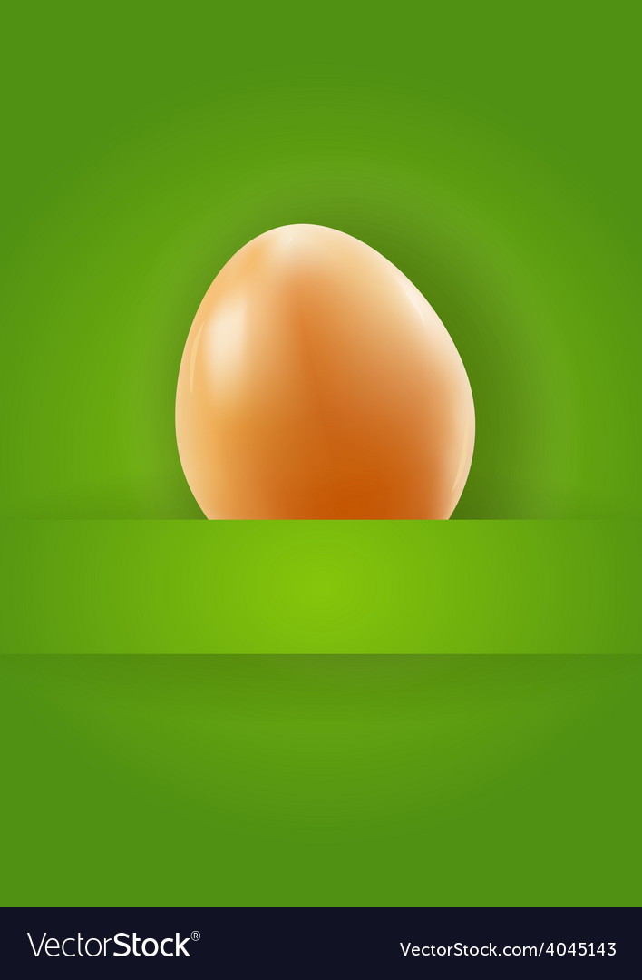 One nice easter egg vector | Price: 1 Credit (USD $1)