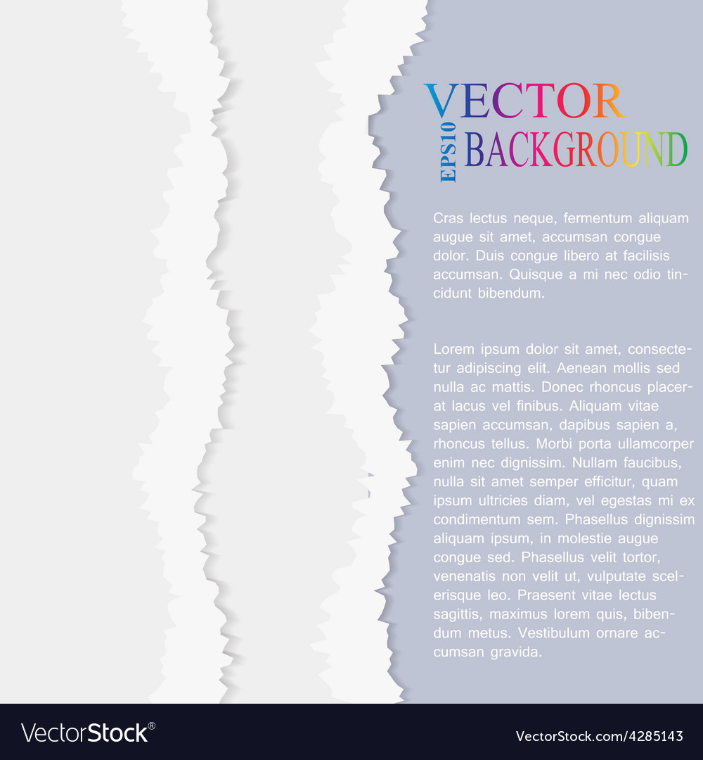 Torn paper  layered vector   Price: 1 Credit (USD $1)