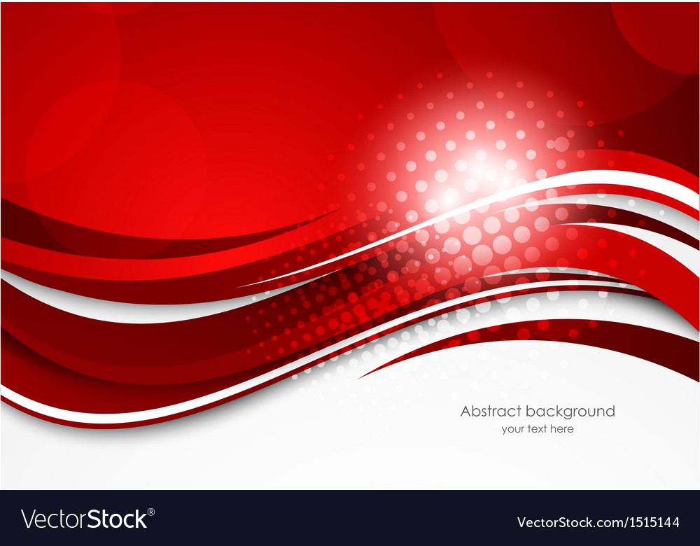 Red wavy background vector | Price: 1 Credit (USD $1)
