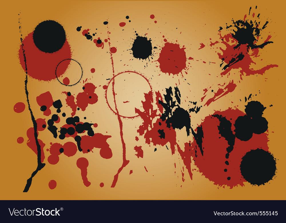 Grunge set background vector | Price: 1 Credit (USD $1)