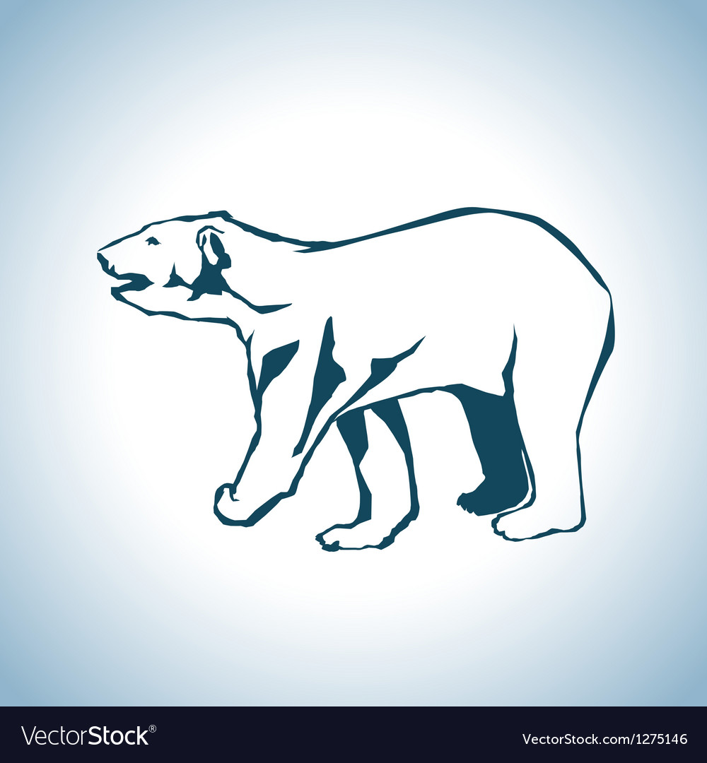 Bear drawing vector | Price: 1 Credit (USD $1)